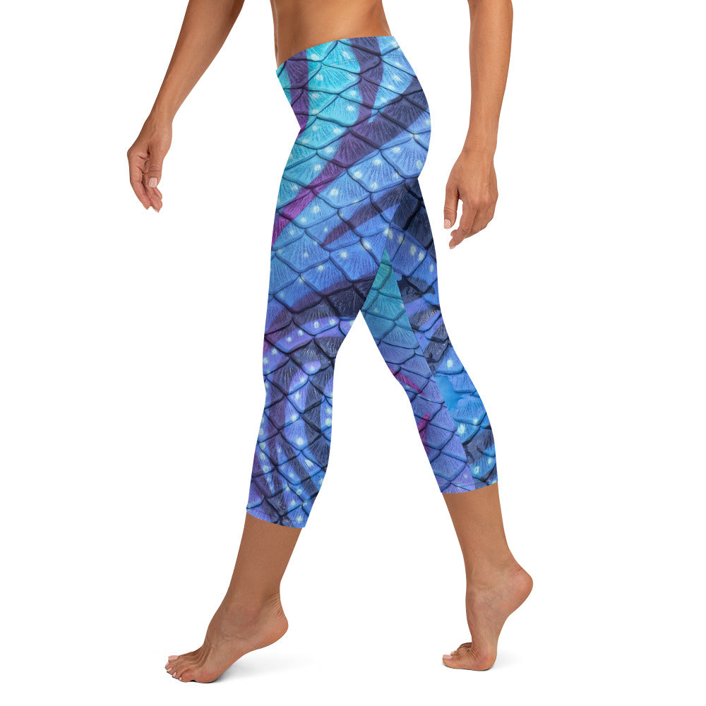 Navi Nightfall Capri Leggings