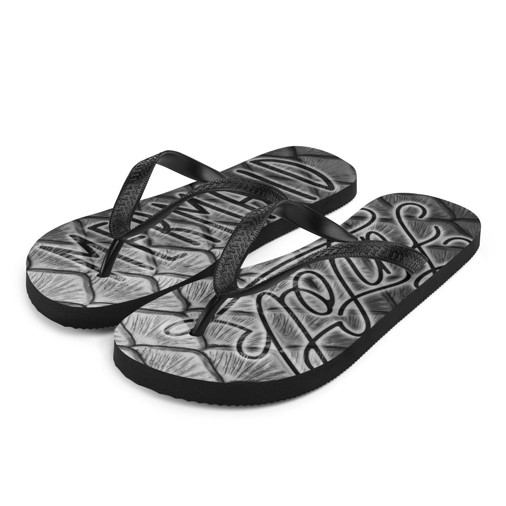 Finfolk Mermaid Fin-Flops: Starcrossed Silver