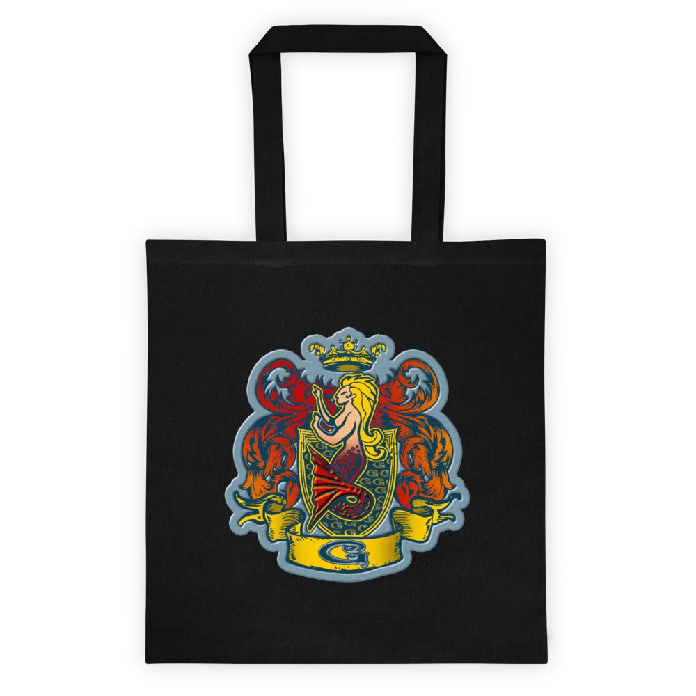 Ruby Finfolk Crest Tote