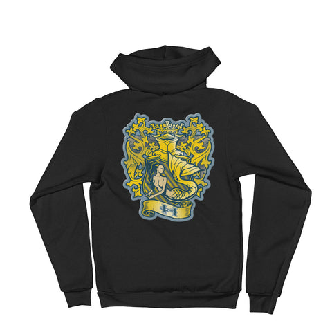 Gold Finfolk Crest T-Shirt