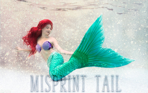 Ariel Dream Fabric Tail