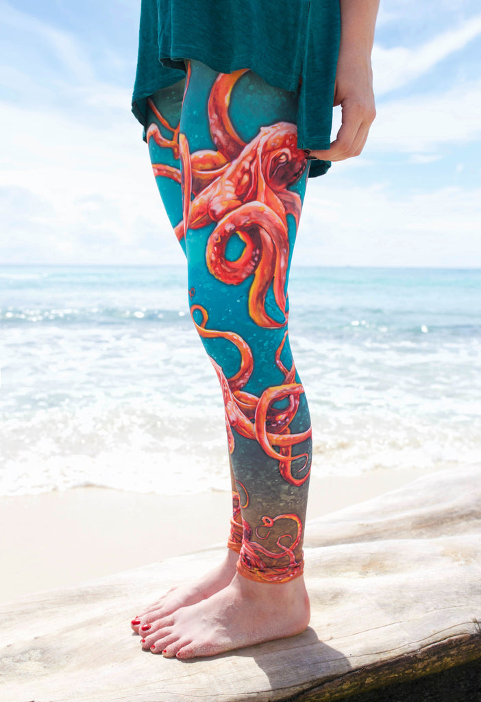 Curious Kraken Leggings