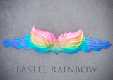 Pastel Rainbow Signature Finfolk Silicone Top