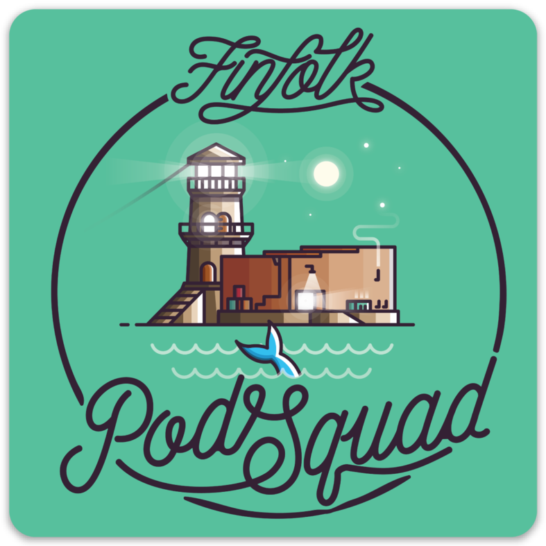 Official Pod Squad Sticker