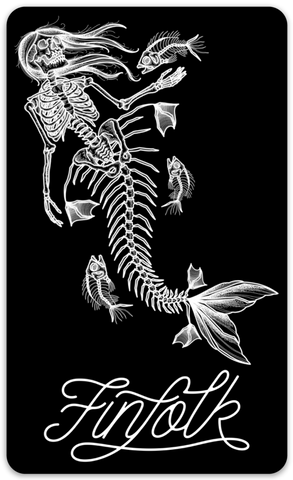 Tattooed Lagoon Sticker