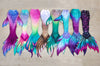 Rainbow Fairytail Fabric Tail