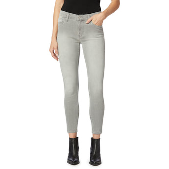 Hudson Nico Midrise Skinny Ankle - Silver Fields