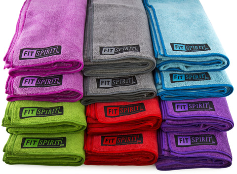 Fit Spirit Microfiber Yoga Towel and Hand Towel