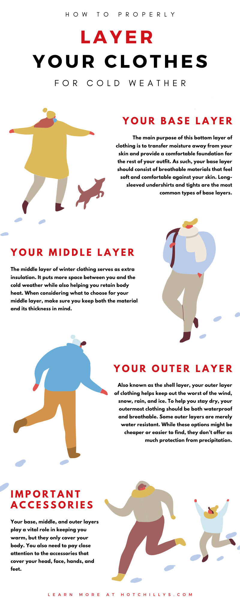 How To Properly Layer Your Clothes for Cold Weather