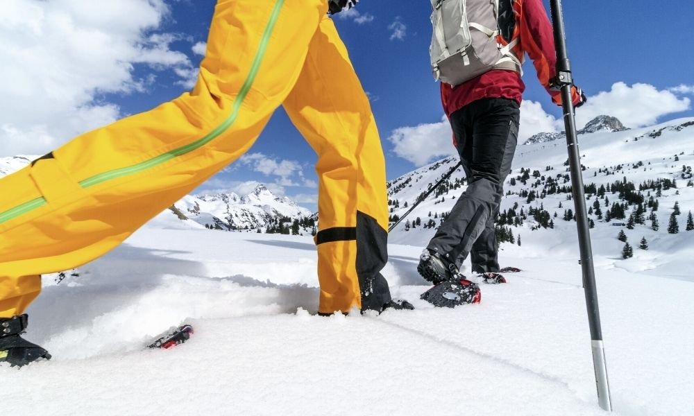 How To Stay Warm While Snowshoeing in the Winter