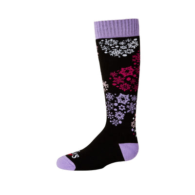 Youth Heart Flurrry Mid Volume Sock - Hot Chillys