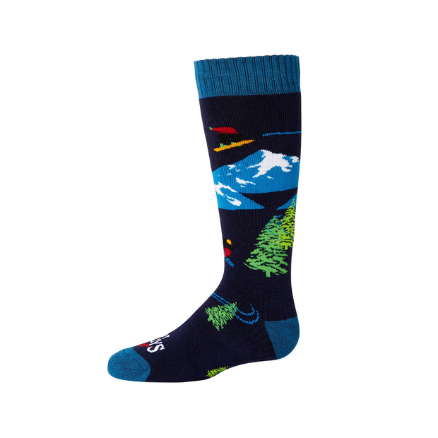 Youth Freestyle Mid Volume Sock - Hot Chillys
