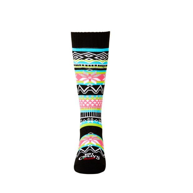 Youth Prima Mid Volume Sock - Hot Chillys