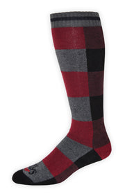 Men's Lumberjack Mid Volume Sock - Hot Chillys