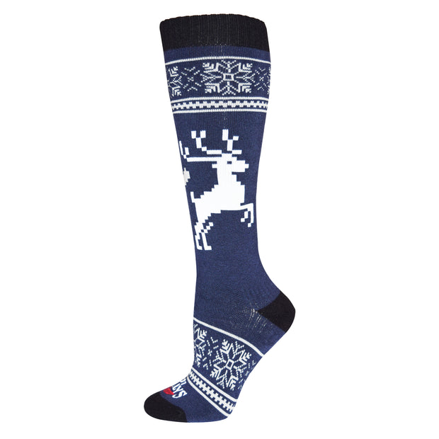 Women's Holiday Fever Mid Volume Sock - Hot Chillys