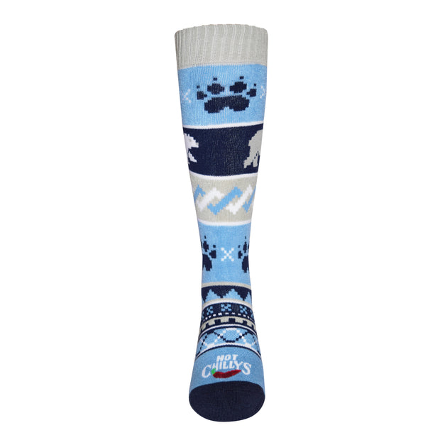 Youth Bear Crossing Mid Volume Sock - Hot Chillys