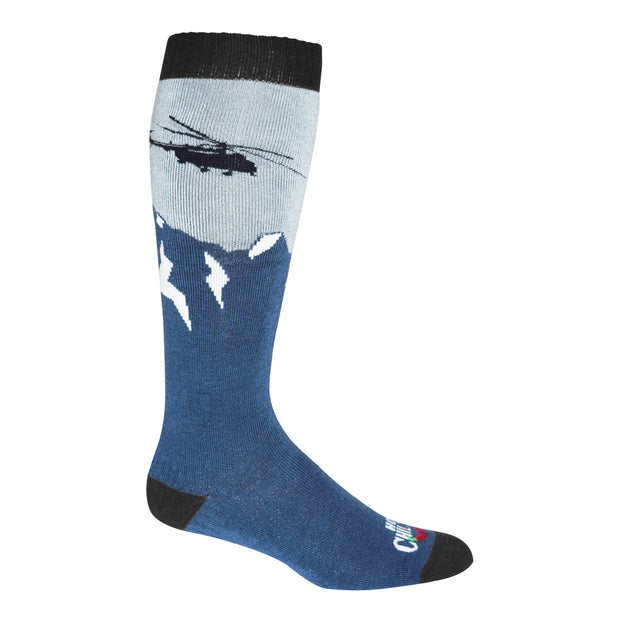 Men's Heli Mid Volume Sock - Hot Chillys