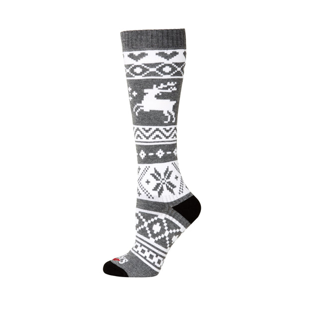 Women's Santa Baby Mid Volume Sock - Hot Chillys