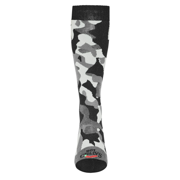 Men's Textured Camo Mid Volume Sock - Hot Chillys