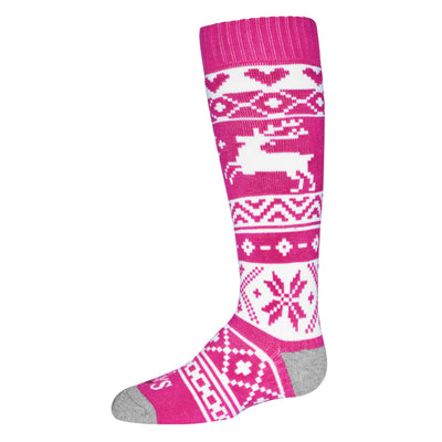 Youth Santa Baby Mid Volume Sock - Hot Chillys