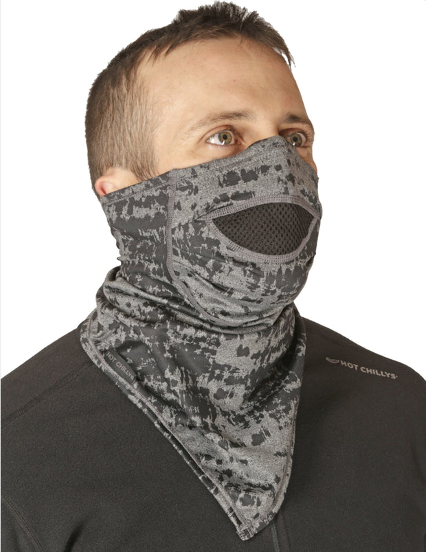 Micro-Elite Chamois Print Bandana w/ Mask - Hot Chillys