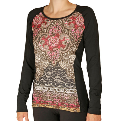 Women's MTF4000 Fiesta! Print Scoopneck - Hot Chillys