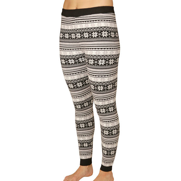 Women's Sweater Knit Printed Legging - Hot Chillys