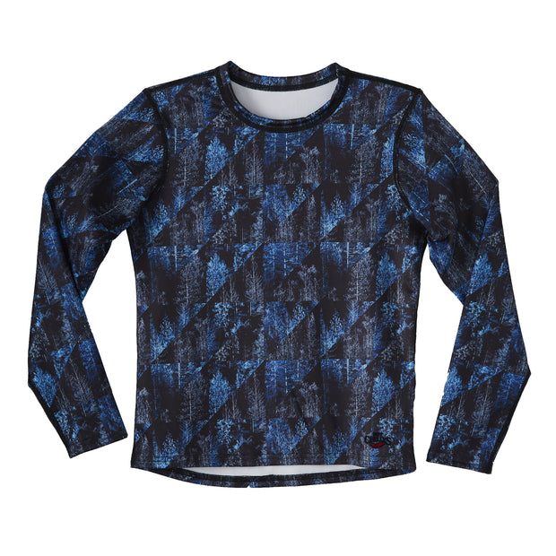 Youth Micro-Elite Chamois Print Crewneck - Hot Chillys