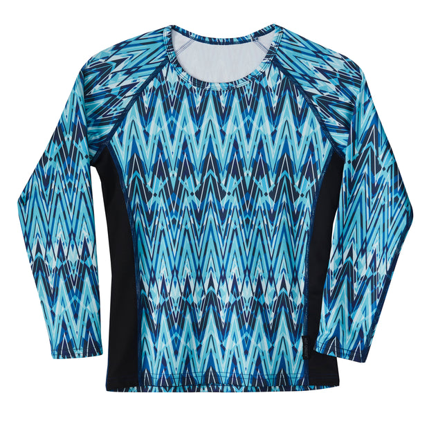 Youth Micro-Elite Chamois Girl's Print Scoopneck - Hot Chillys