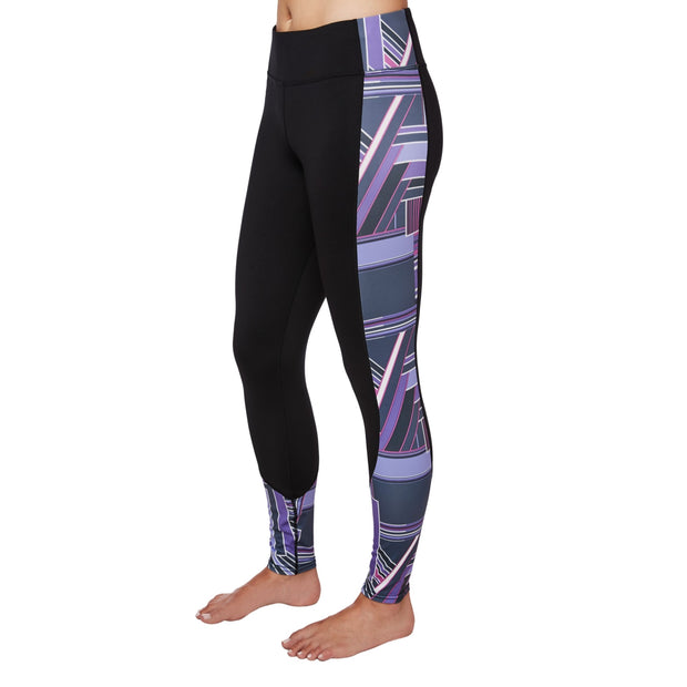 Women's Micro-Elite Chamois Fiesta Soho 70's Split Legging - Hot Chillys