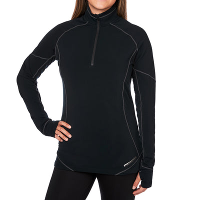 Women's Micro Elite XT Zip-T - Hot Chillys