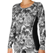 Women's Micro-Elite Chamois Print Scoopneck - Hot Chillys