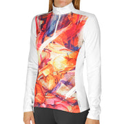 Women's MTF4000 Fiesta! Print Zip-T - Hot Chillys