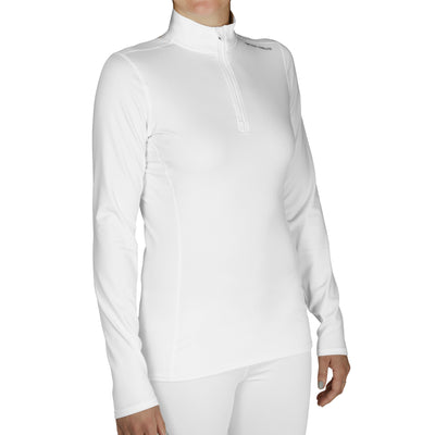 Women's Micro-Elite Chamois Zip-T - Hot Chillys