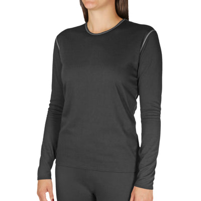 Women's Pepper Bi-Ply Crewneck - Hot Chillys