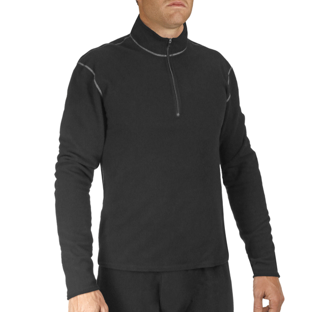 Men's Pepper Fleece Zip-T - Hot Chillys
