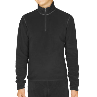 Youth Pepper Fleece Zip-T - Hot Chillys