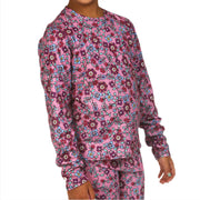 Youth Pepper Fun Fleece Print Crewneck - Hot Chillys