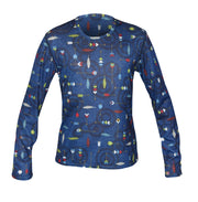Youth Pepper Skins Print Crewneck - Hot Chillys