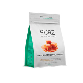 PURE WHEY PROTEIN SALTED CARAMEL - 500g or 1kg pouch