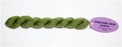 Meadow Merino Wool #M-1236 Thread Medium Green for Needlepoint from Wiltex