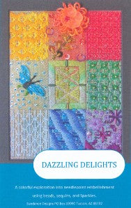 Canvas~ Sundance Sequins & Beading Sampler handpainted Needlepoint Canvas & Beads Kit