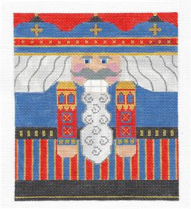 Canvas- Red Nutcracker LG. handpainted Needlepoint Canvas by CH Designs ~ Danji