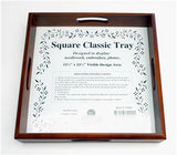 "Sudberry House CLASSIC 11.5"" SQUARE TRAY for Needlepoint & Cross Stitch"