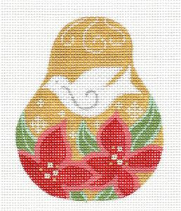 Pear~White Dove Pear handpainted Needlepoint Canvas by CH Designs from Danji