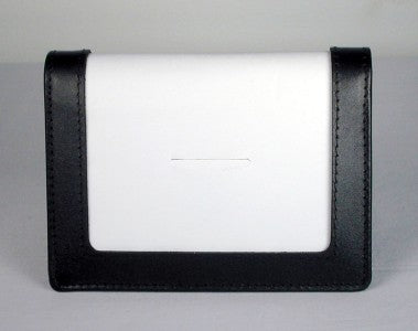 "Accessory~Black Leather CREDIT CARD CASE for 3.5"" by 5"" Needlepoint Canvas from LEE"