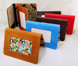 Accessory~ LEE excellent Leather E-BOOK COVER for Needlepoint Canvas ~ 6 Colors Available