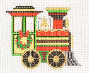Christmas~ Christmas Train Engine by Raymond Crawford ***SPECIAL ORDER***