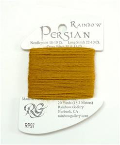 "Persian Wool  ""Carmel Apple"" #97  Single Ply Needlepoint Thread by Rainbow Gallery"