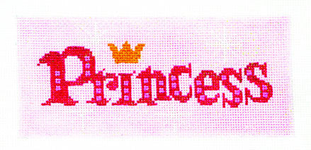 Canvas Insert~Princess handpainted Needlepoint Canvas